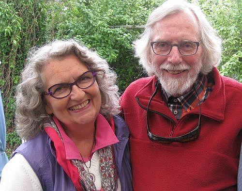 Ny-fengshui er et teamwork mellem Birgit From og billedkunstneren Ole Folmer Hansen.